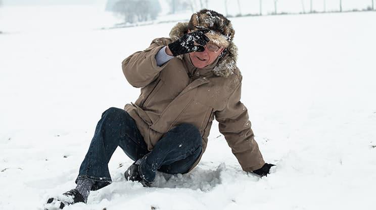 Wer haftet für Unfälle im Winter?